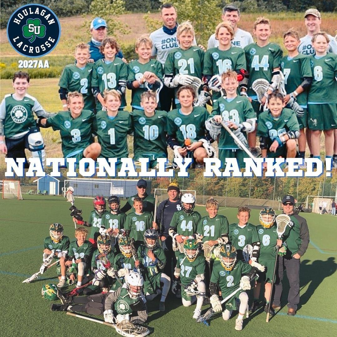 Lacrosse Program Nationally Ranked